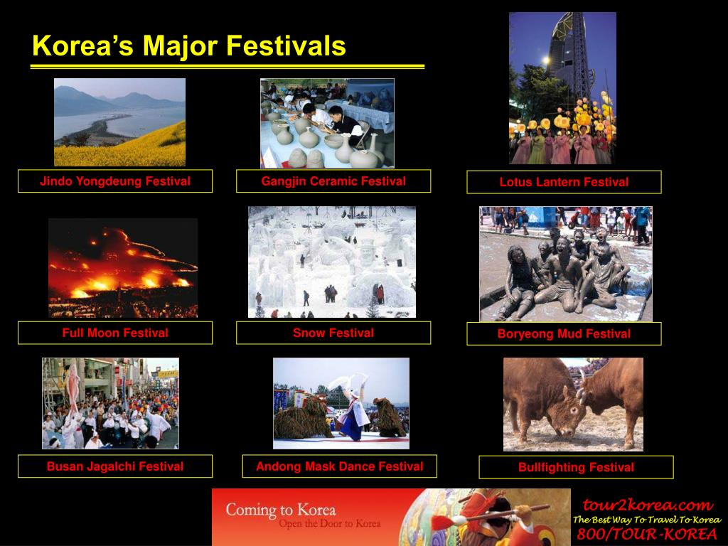 Korea's Major Festivals