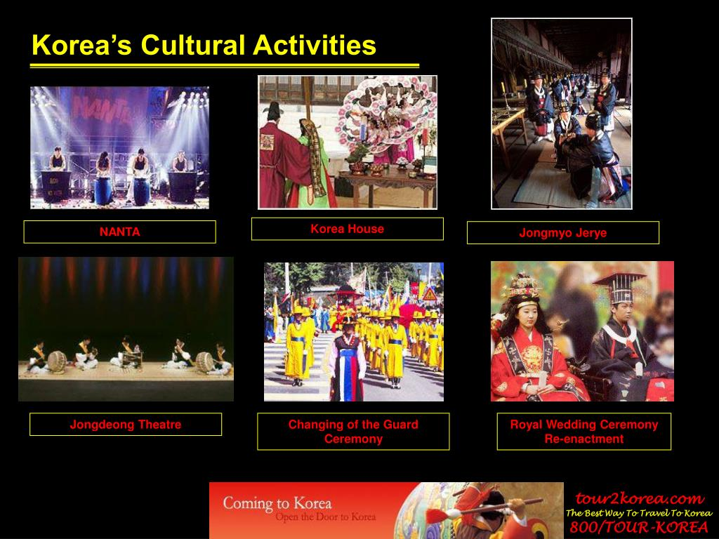 Korea's Cultural Activities