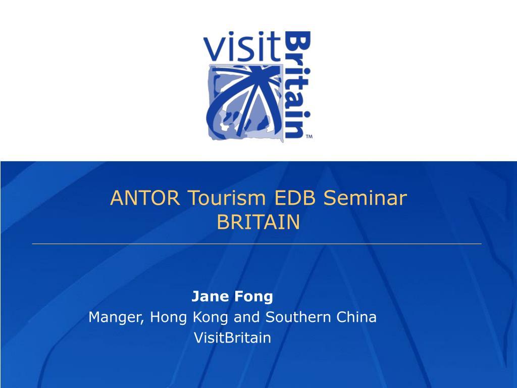 ANTOR Tourism EDB Seminar