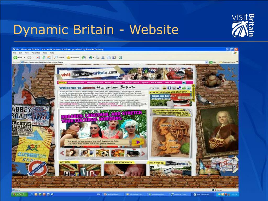 Dynamic Britain - Website