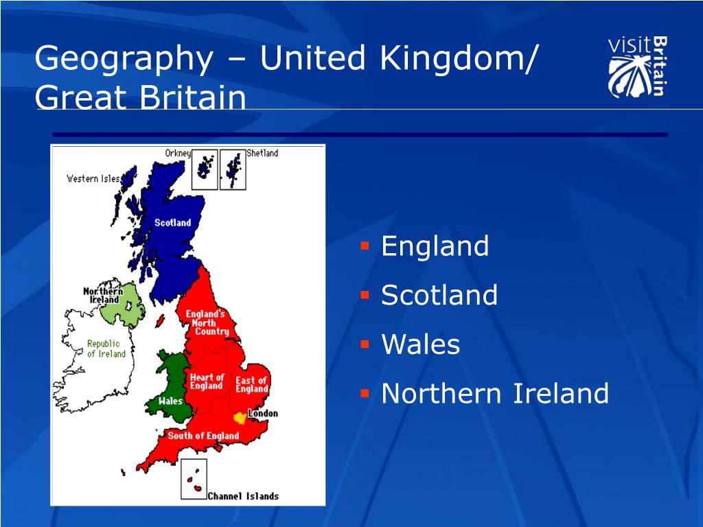 Geography – United Kingdom/ Great Britain