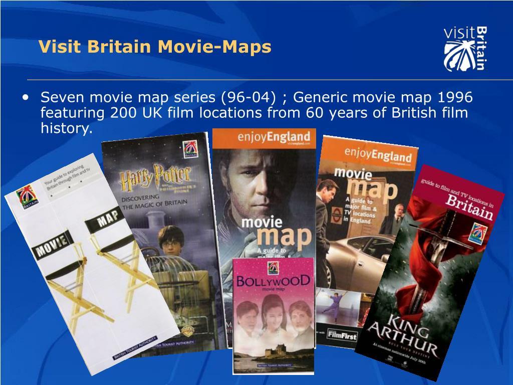Visit Britain Movie-Maps