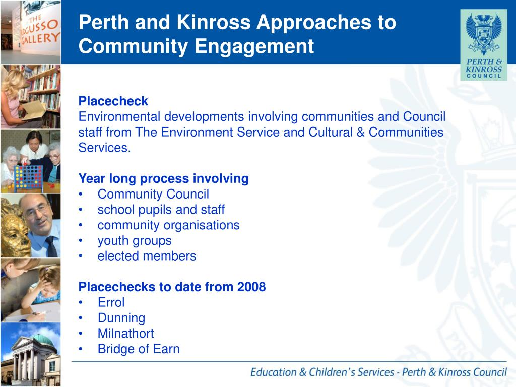 Perth and Kinross Approaches to Community Engagement