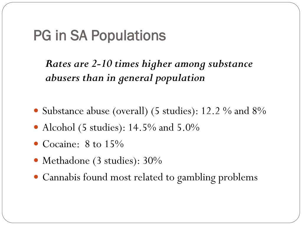 PG in SA Populations