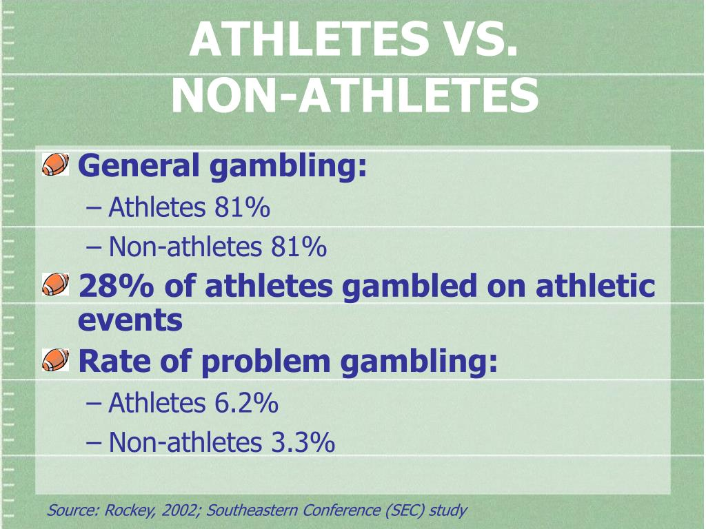 ATHLETES VS.