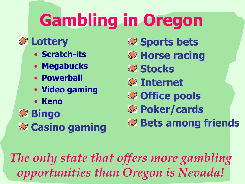 Gambling in Oregon