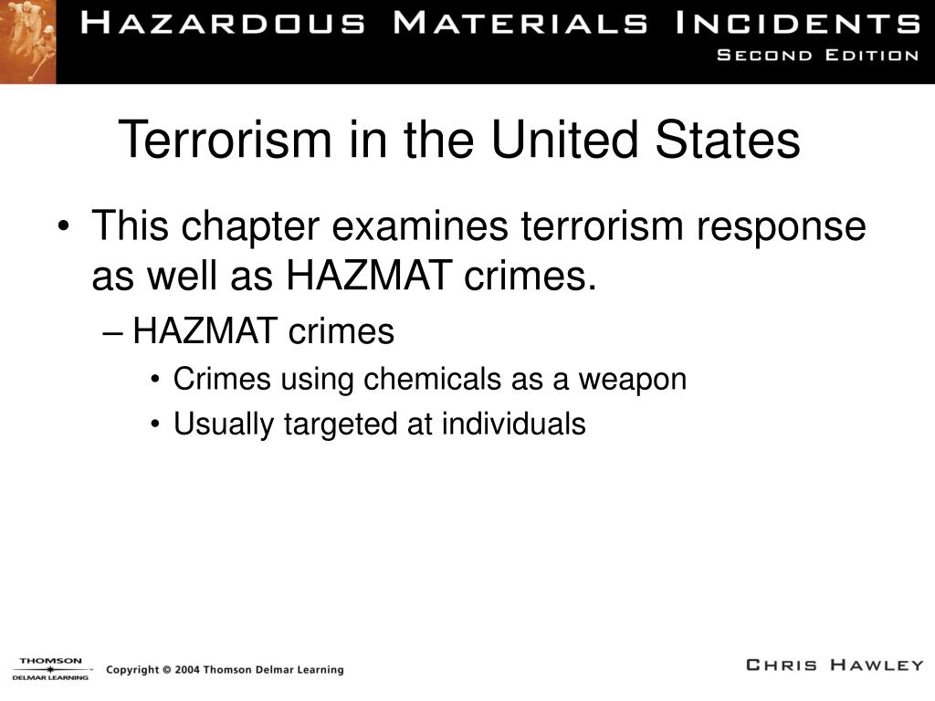 terrorism in the united states The terrorism and extremist violence in the united states (tevus) database integrates four open-source data sets to facilitate more robust and sophisticated analyses of the behaviors, operations, and activities of violent extremists within the united states the overall goals of the project are to .