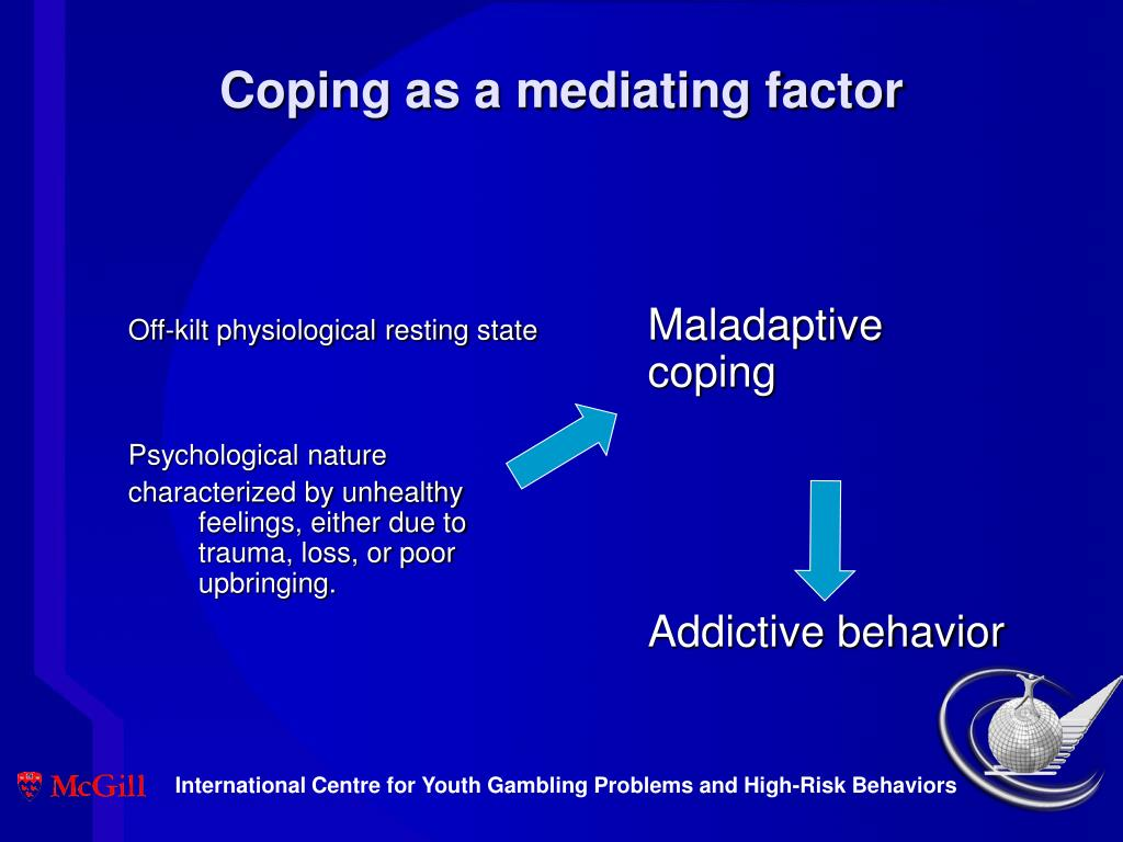 Coping as a mediating factor