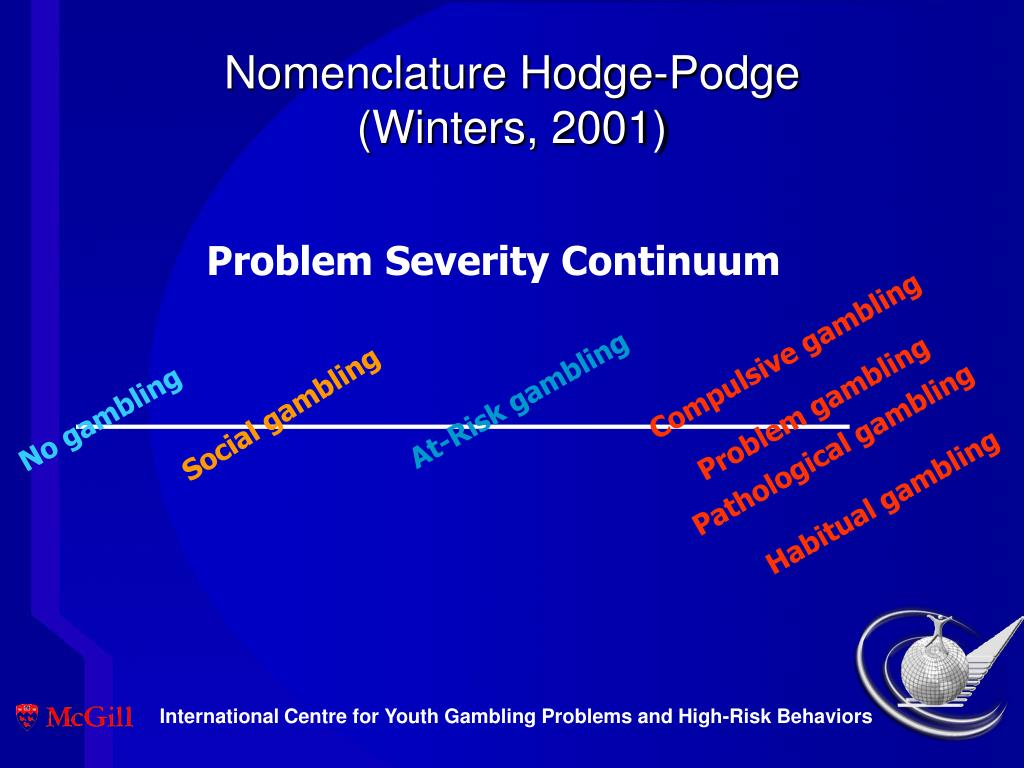 Nomenclature Hodge-Podge