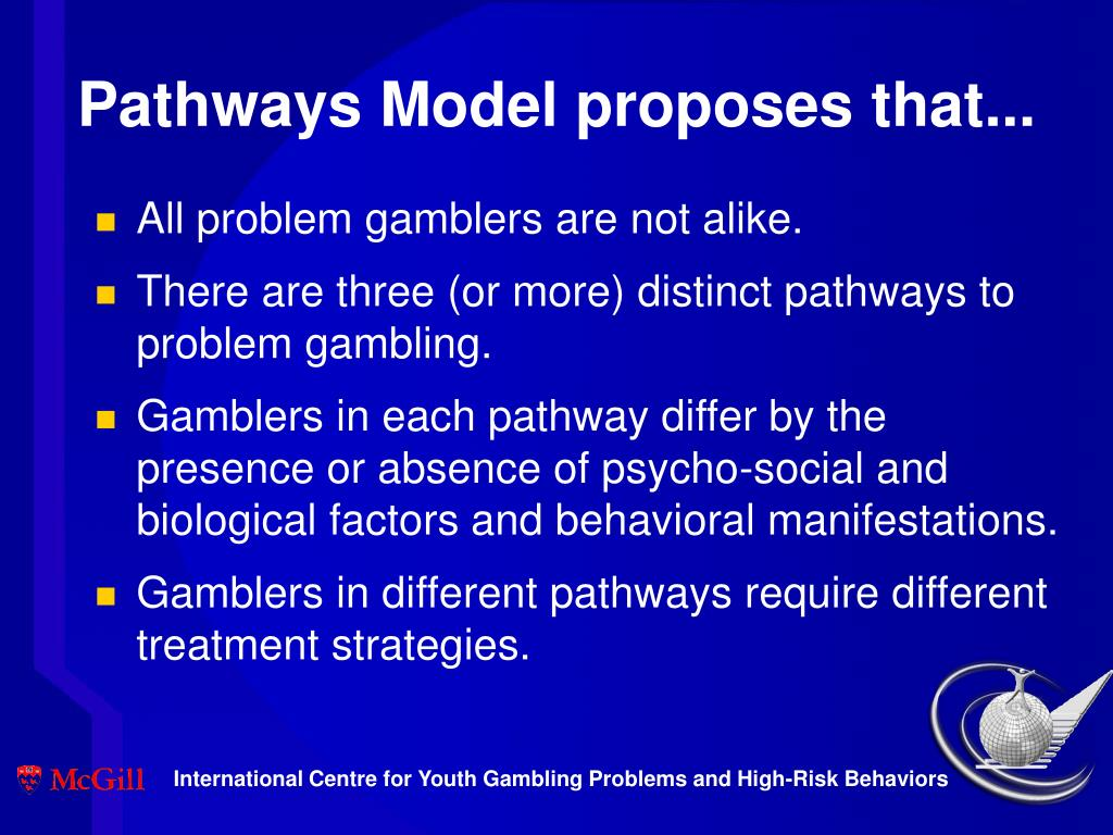 Pathways Model proposes that...
