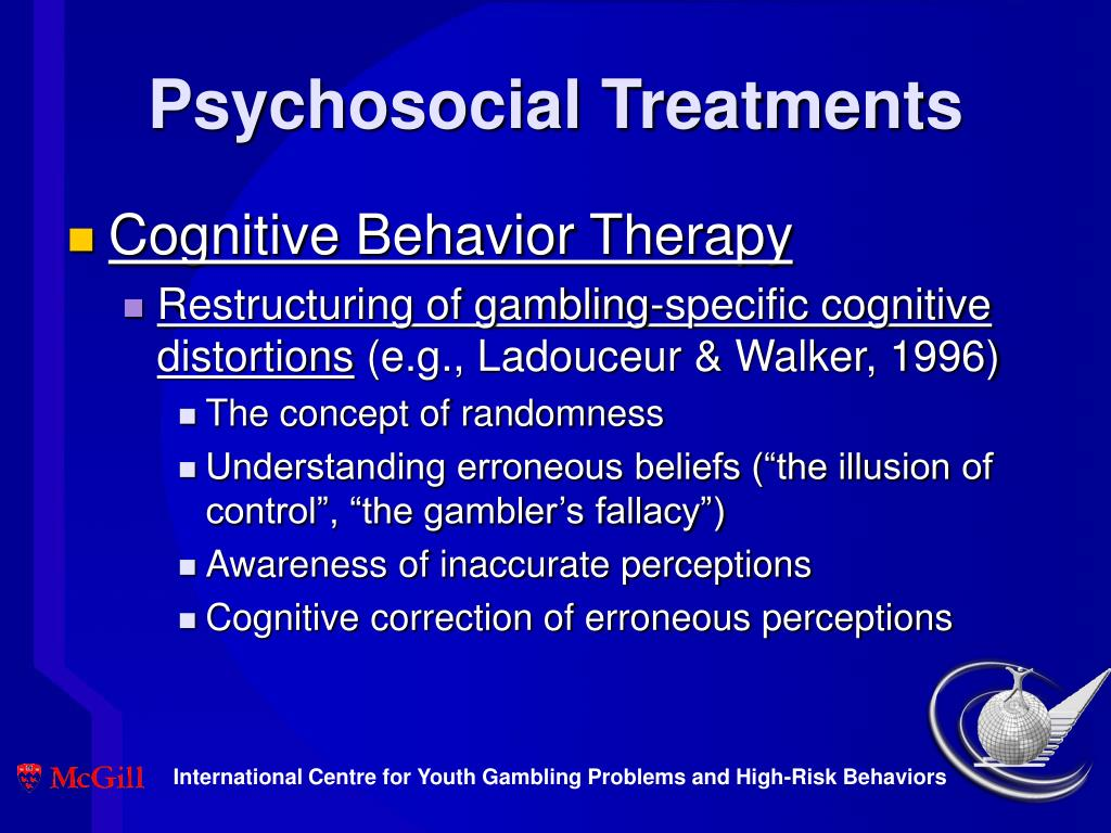 Psychosocial Treatments