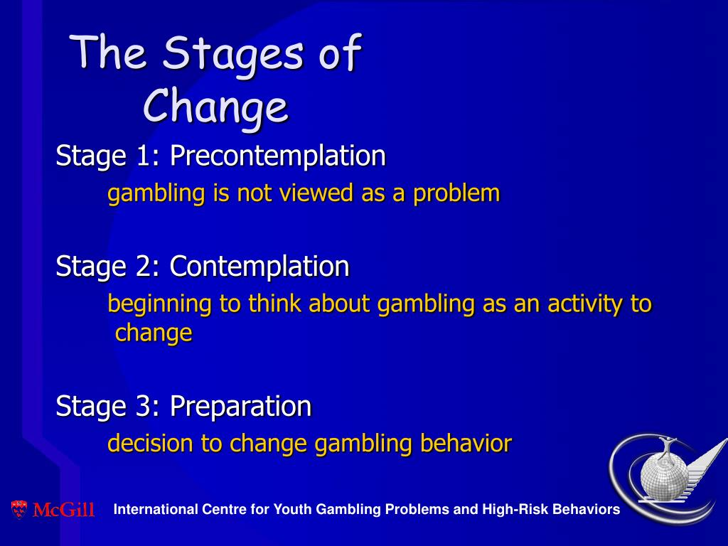 The Stages of Change