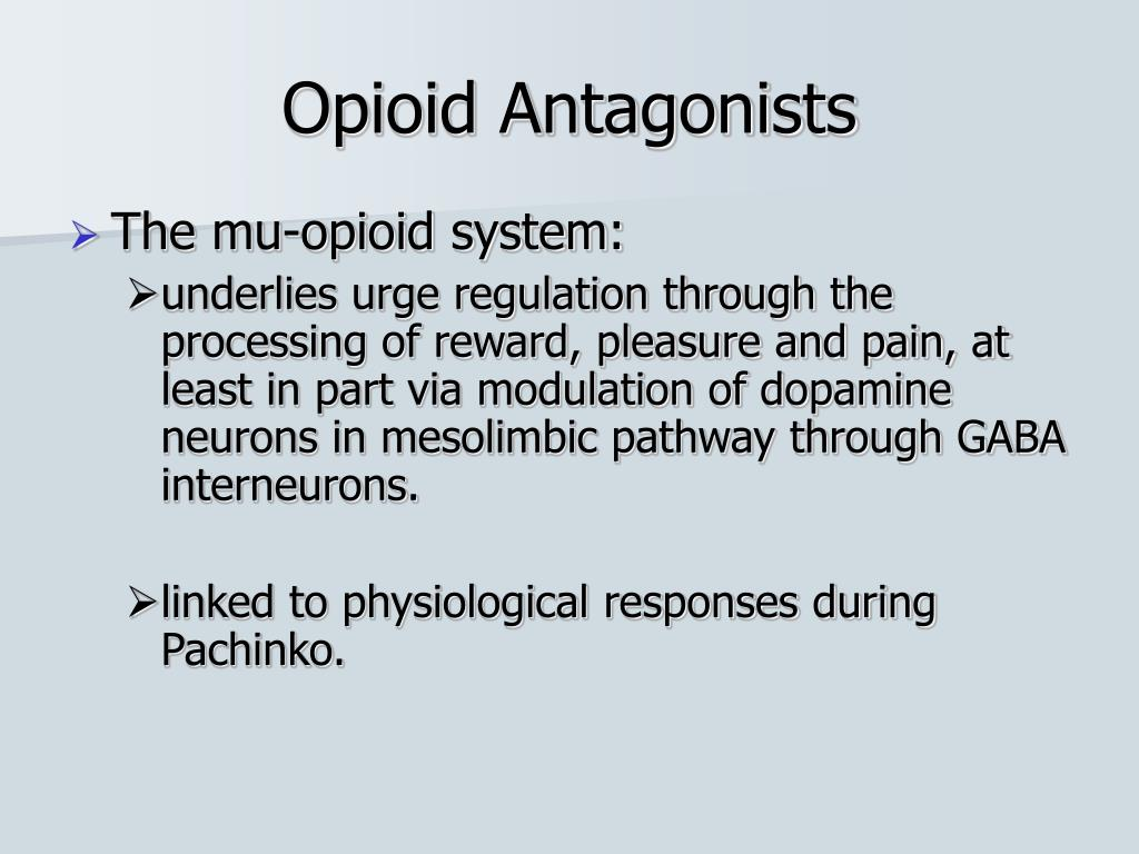 Opioid Antagonists