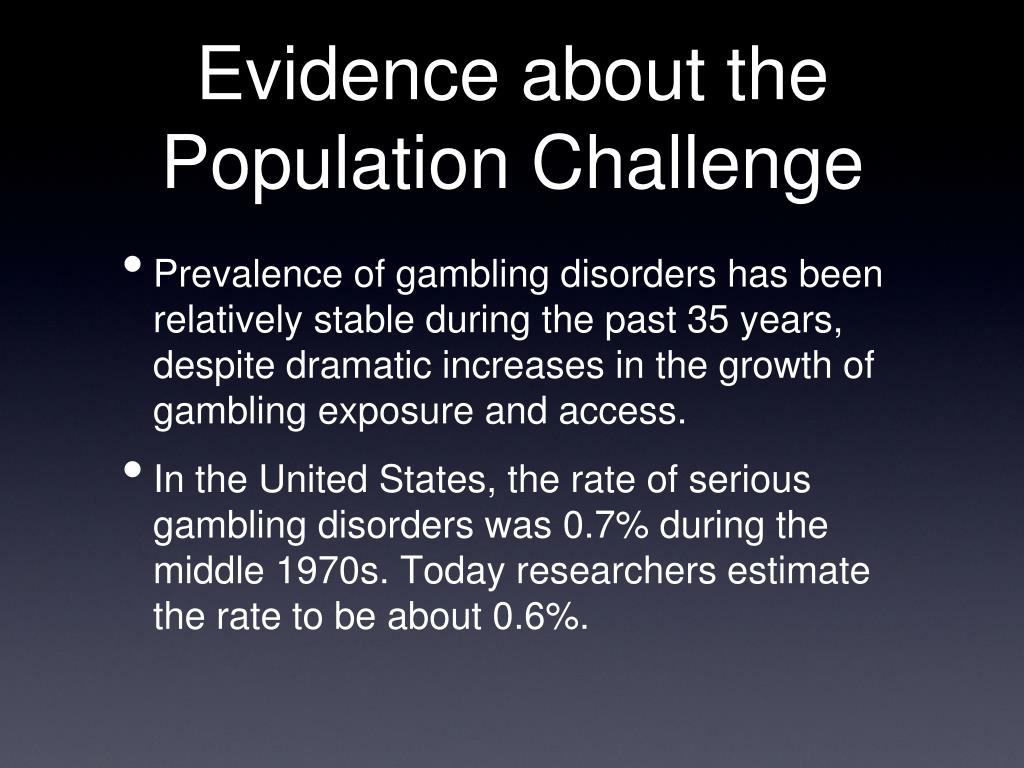 Evidence about the Population Challenge