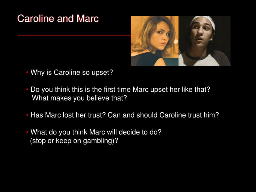 Caroline and Marc