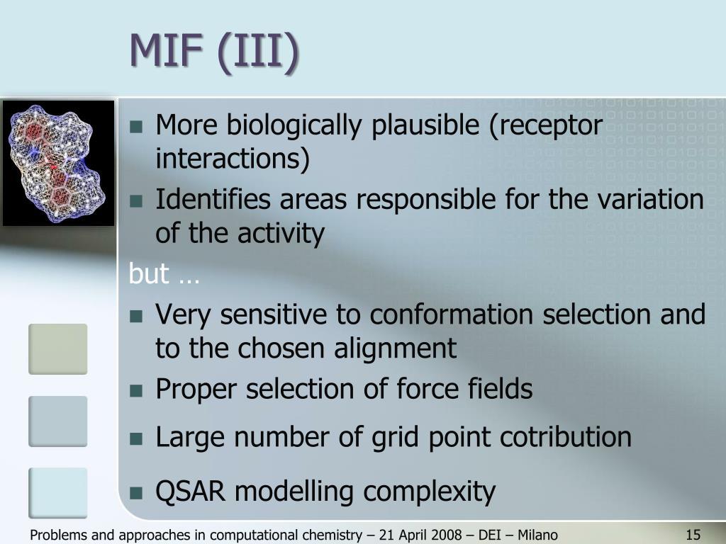 MIF (III)