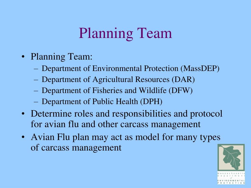 Planning Team