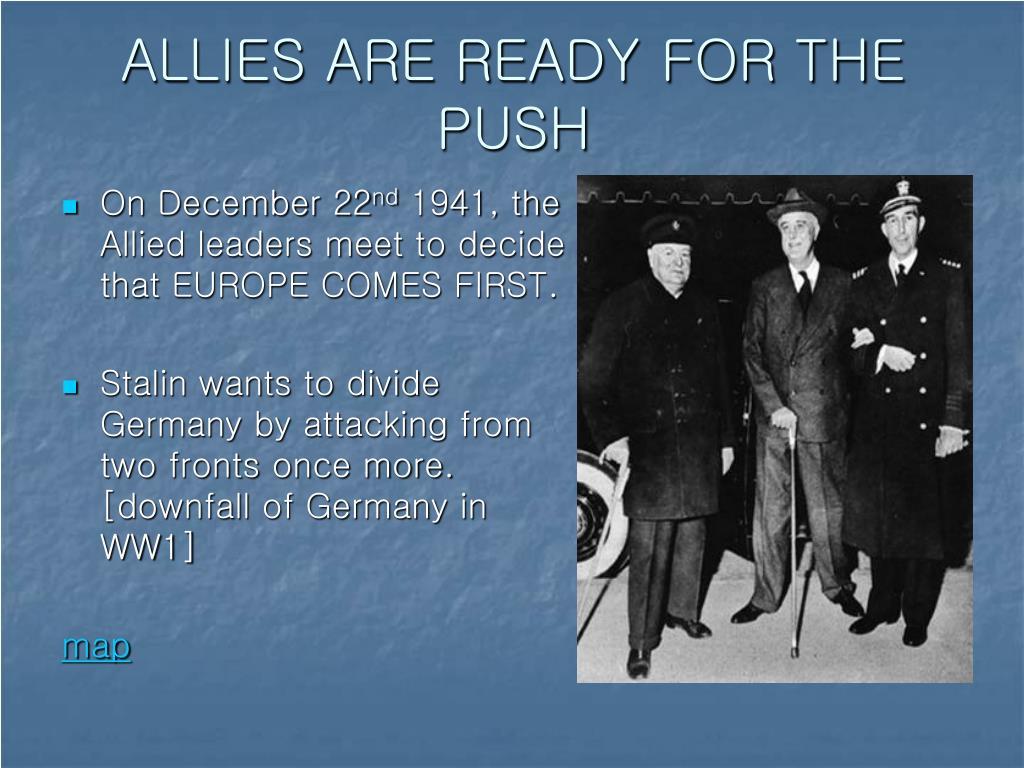 was allied leadership effective in ww1