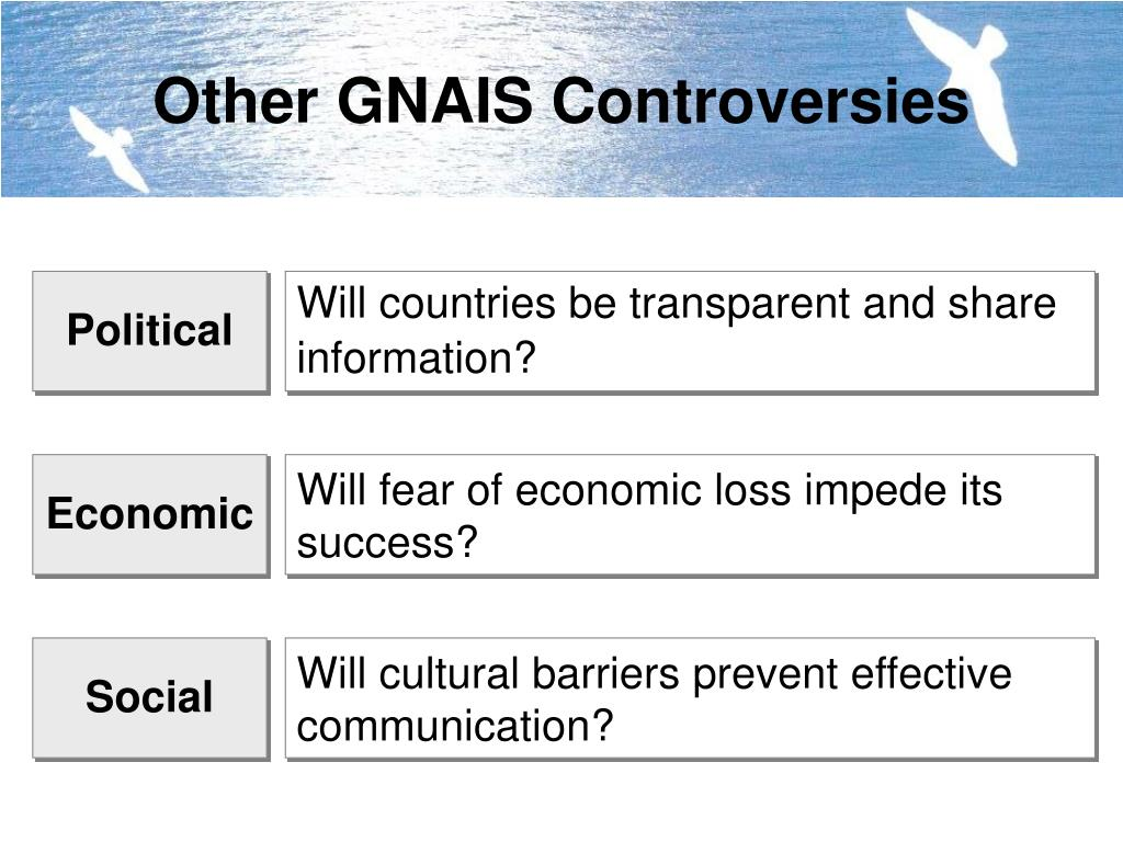 Other GNAIS Controversies