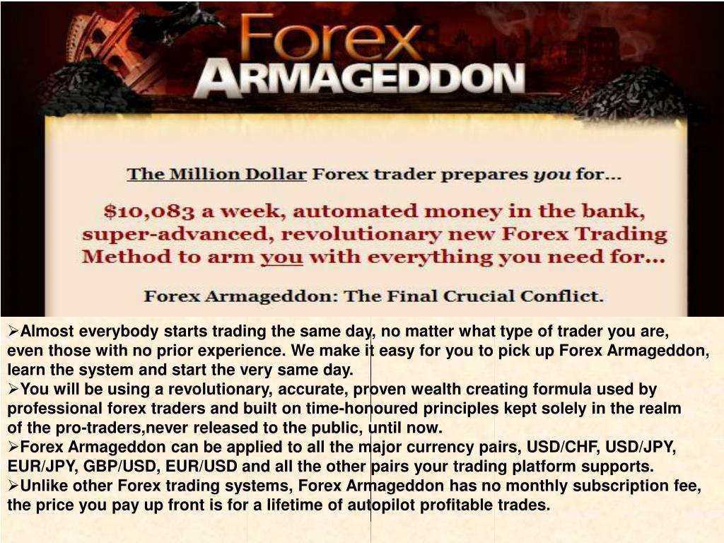 Almost everybody starts trading the same day, no matter what type of trader you are,
