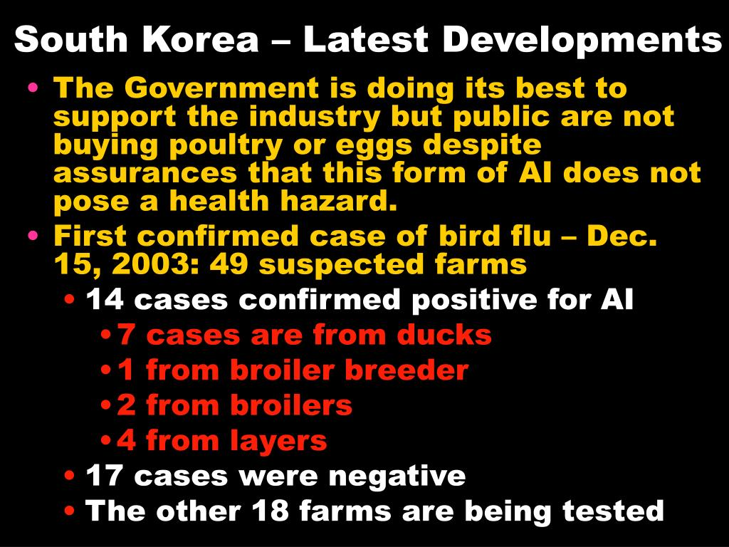 South Korea – Latest Developments