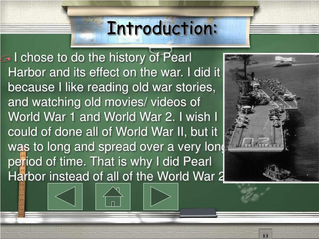 an introduction to the history of world war two pearl harbor Attack on pearl harbor [shelley tanaka] on amazoncom free  introducing  prime wardrobe amazon  gr 4-6-tanaka's brief account of the surprise  japanese attack on pearl harbor is not of the quality of some of her previous  titles in three  a similar book about the germans in ww2 would not be as well  received.