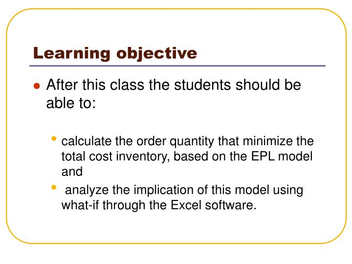 Learning objective l.jpg