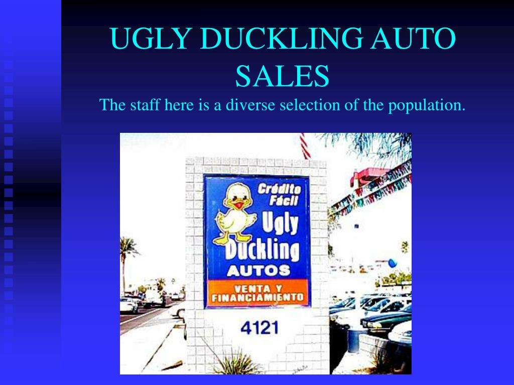 UGLY DUCKLING AUTO SALES