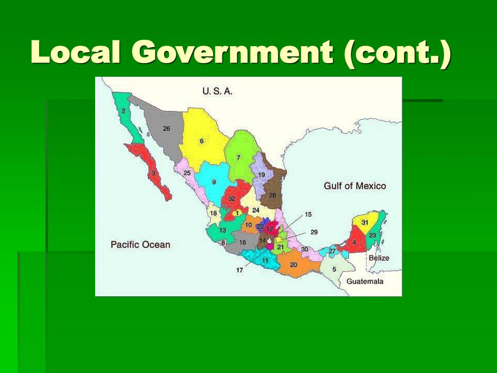 Local Government (cont.)
