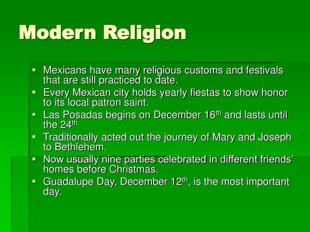 Modern Religion