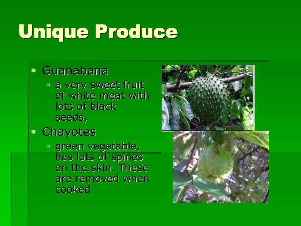 Unique Produce