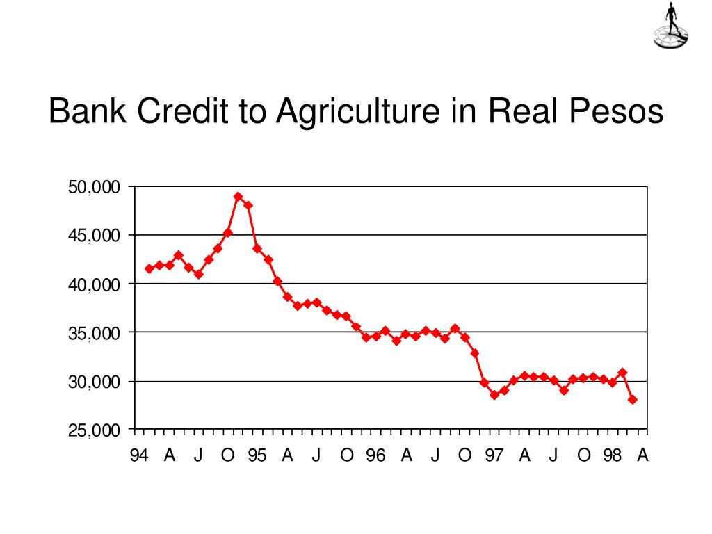 Bank Credit to Agriculture in Real Pesos