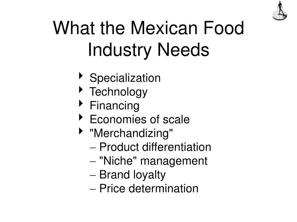 What the Mexican Food Industry Needs