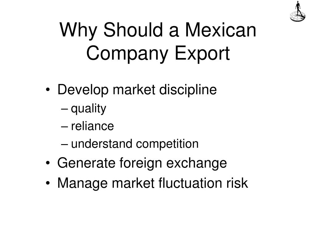 Why Should a Mexican Company Export