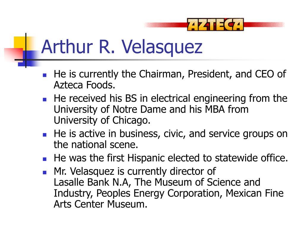 Arthur R. Velasquez