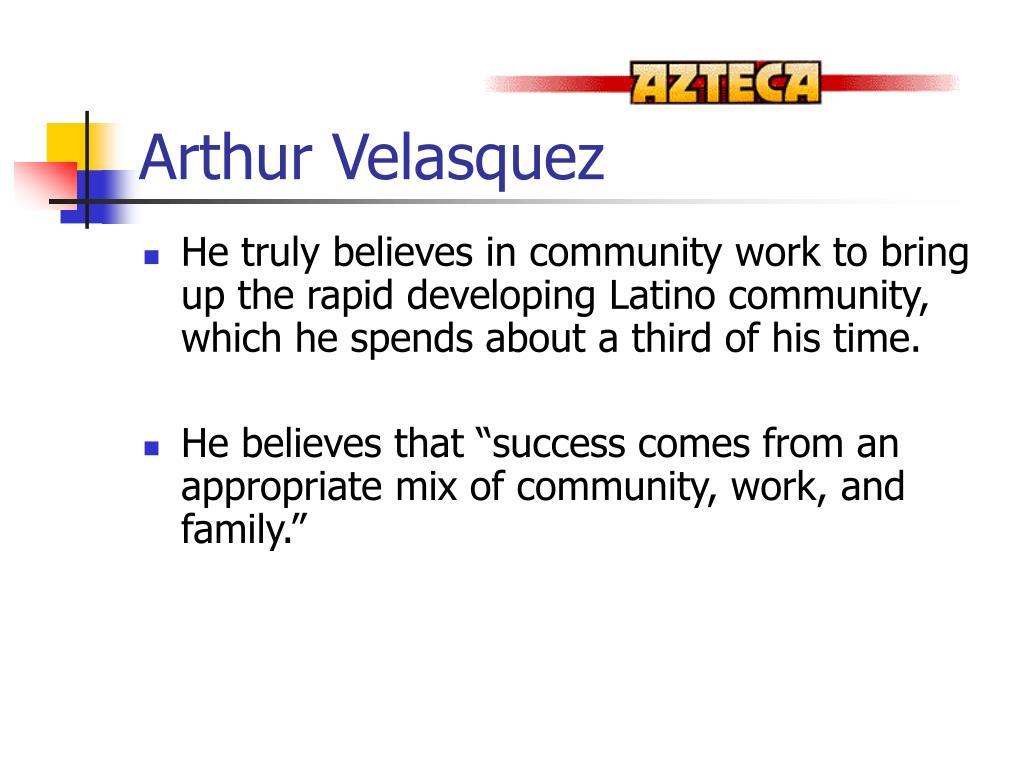 Arthur Velasquez