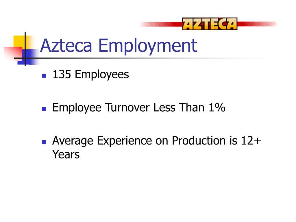 Azteca Employment