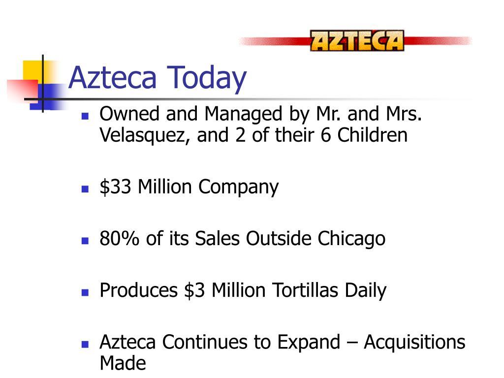 Azteca Today