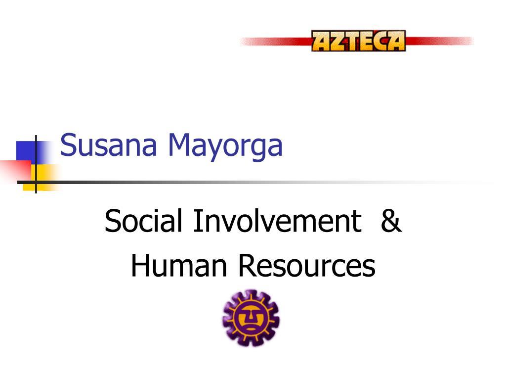 Susana Mayorga