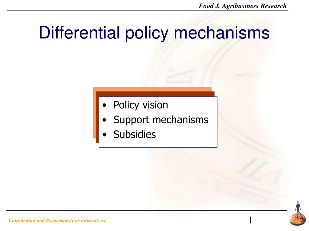 Differential policy mechanisms