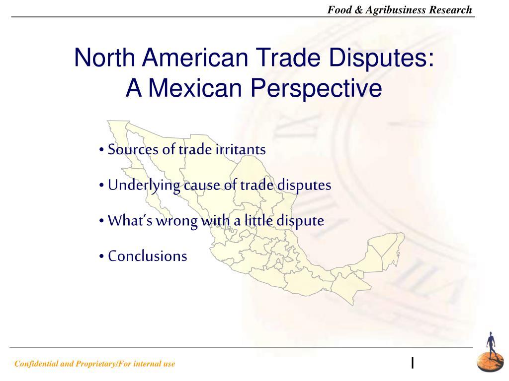 North American Trade Disputes: