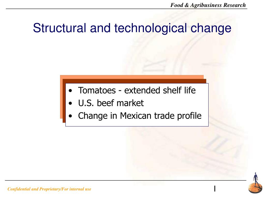 Structural and technological change
