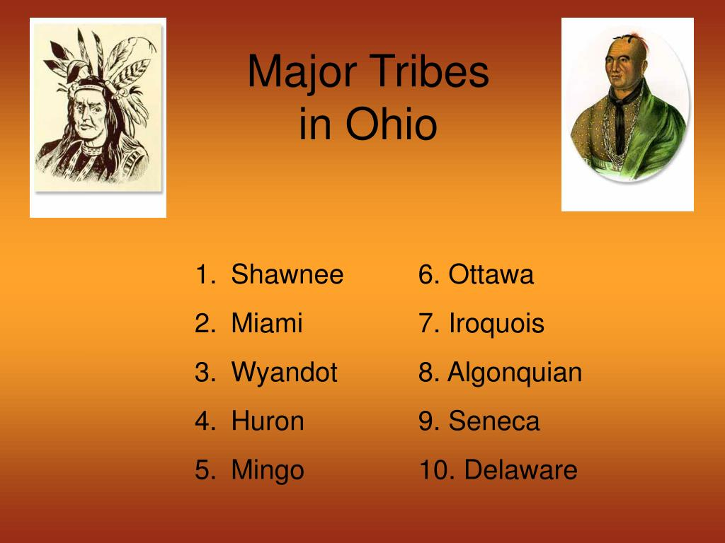 Major Tribes