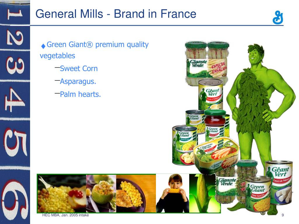 General Mills - Brand in France