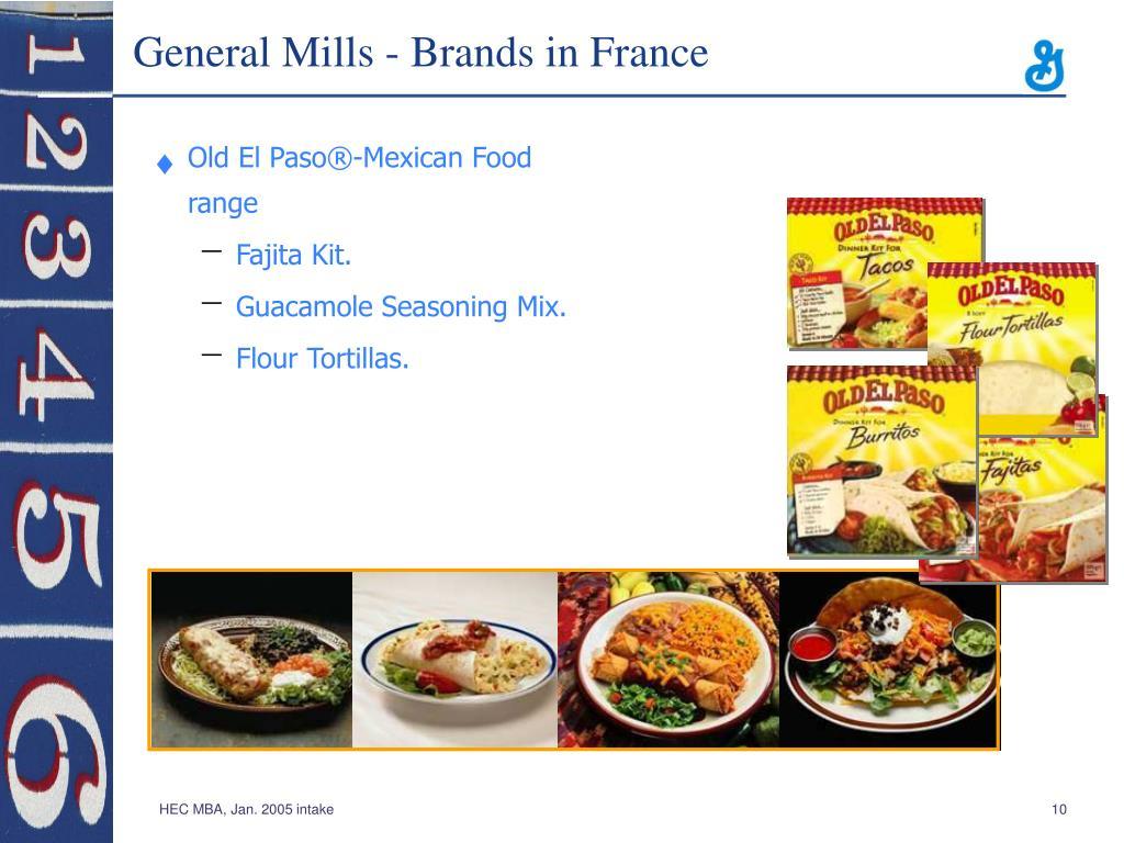 General Mills - Brands in France