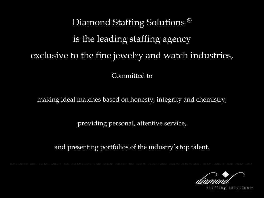 Diamond Staffing Solutions