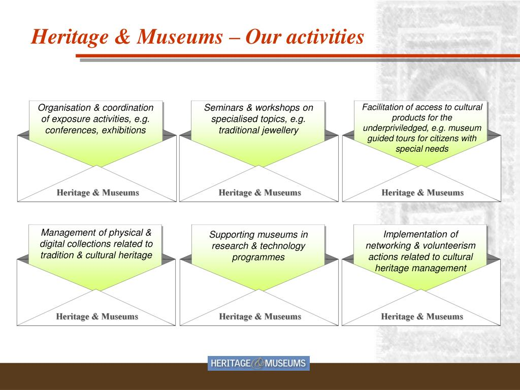 Organisation & coordination of exposure activities, e.g. conferences, exhibitions