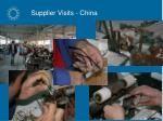 supplier visits china