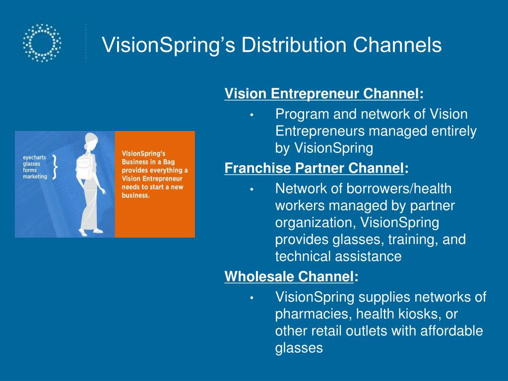 VisionSpring's Distribution Channels