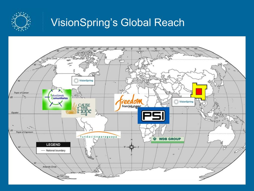 VisionSpring's Global Reach